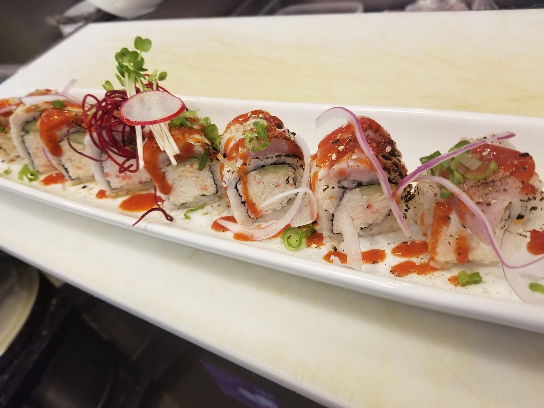 Spicy Tuna Tataki Roll