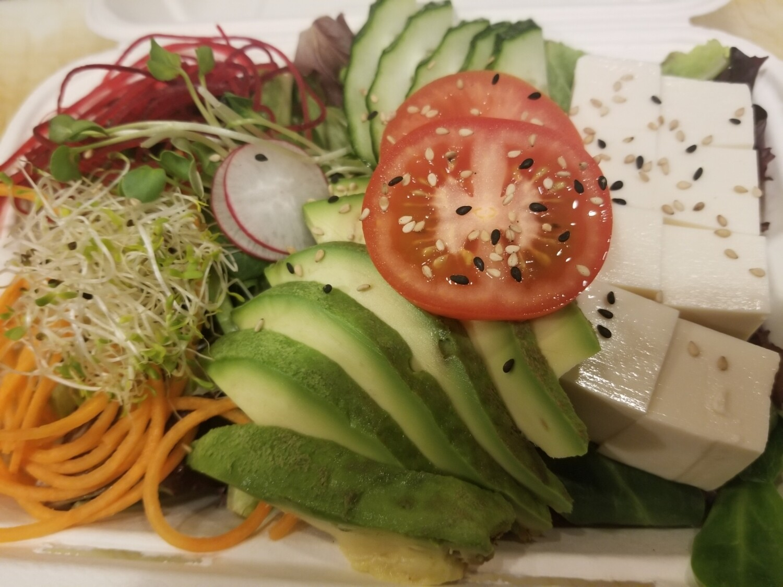 Tofu Avocado Salad (House Dressing)
