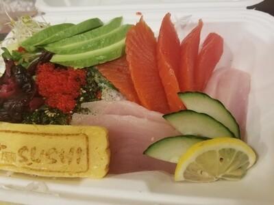 Tuna & Salmon Donburi