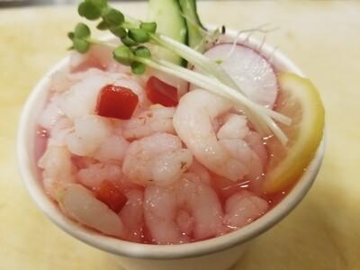 Baby Shrimp Sunomono