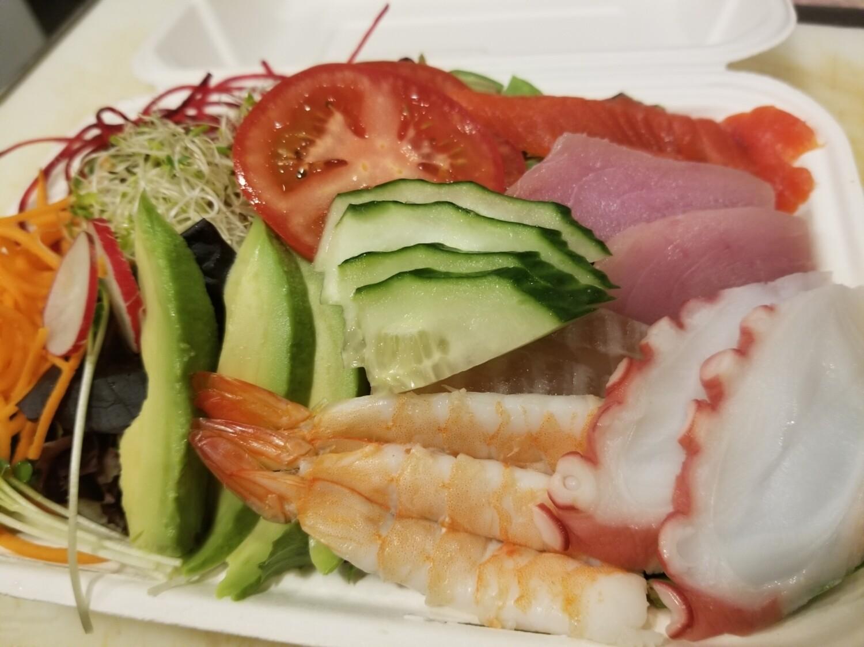 Sashimi Salad (Yuzupon)