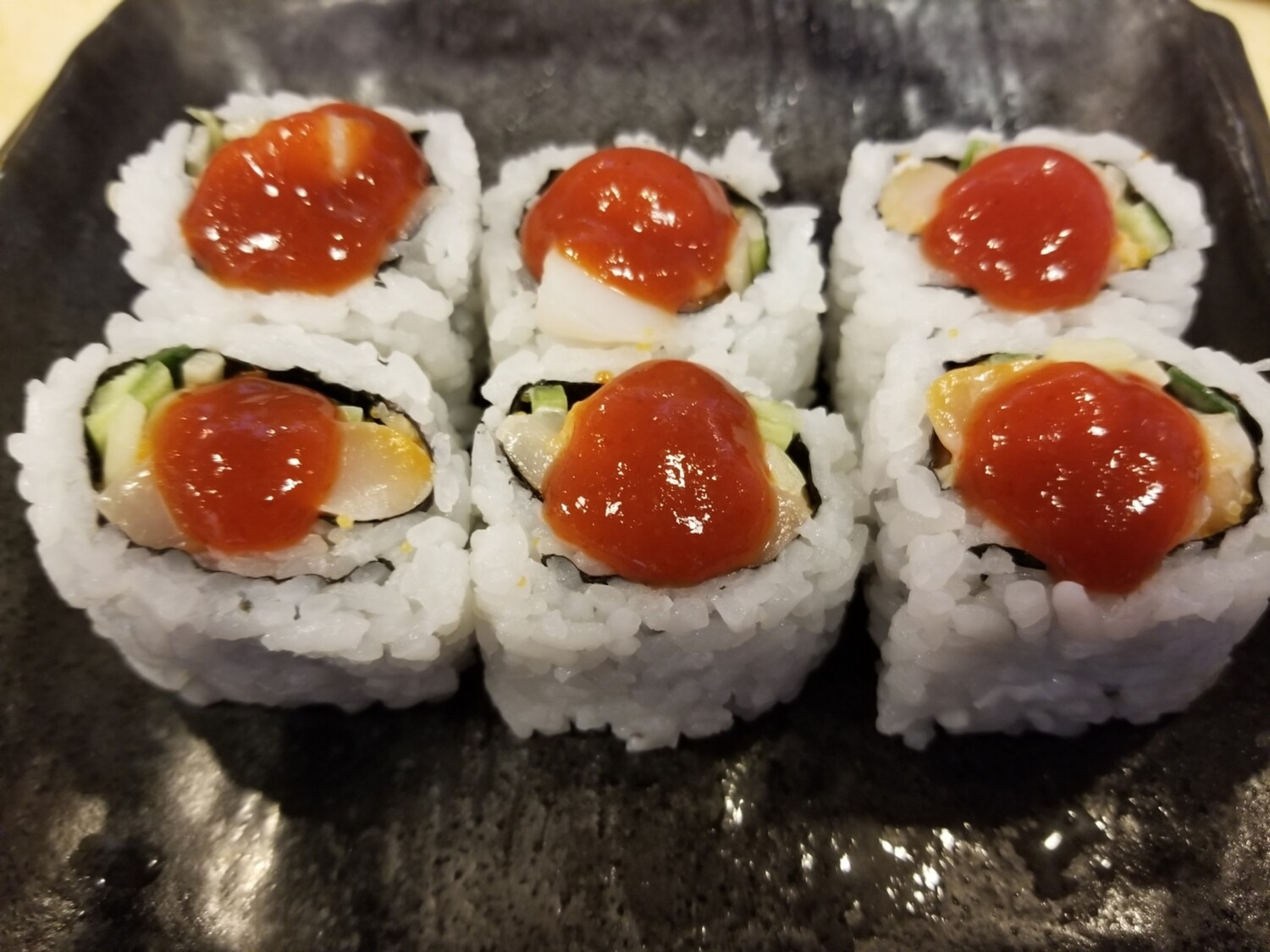 Spicy Chopped Scallop Roll