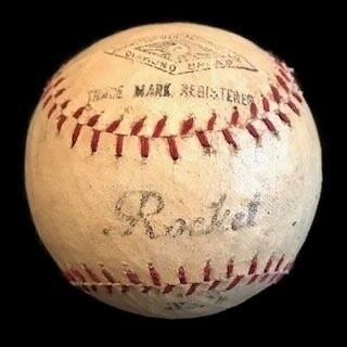 1900's Vintage Baseball made by Diamond Brand