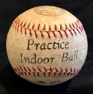 1910-20's Practice Indoor Baseball