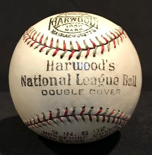 1910's Harwood National League Baseball