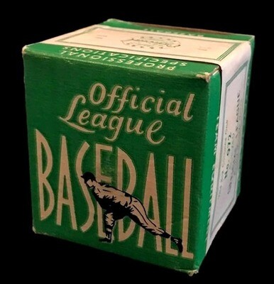 1930 - 1940's Official League Baseball, Mint in the Original Box