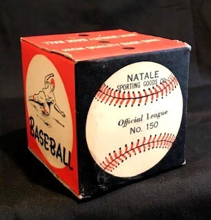 1940's Hyde Park Sporting Goods, Official League Baseball in Sealed Box