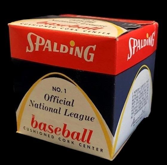 1950's Spalding Official National League Baseball, President Warren Giles