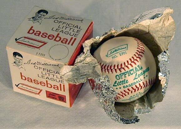 1950's Ted Williams, Sears Model Baseball, MINT in Box
