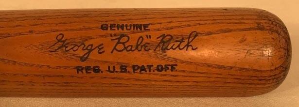 Vintage Baseball Bat - 1930 Babe Ruth Louisville Slugger Baseball Bat