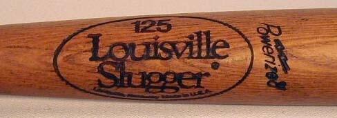 1980 Tony Pena Game Used Bat, Louisville 125