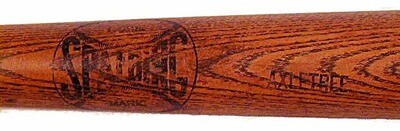 1890's Spalding AXLETREE Model Ring Bat