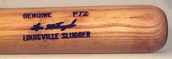 1980-1983 Len Matuszek Game Used Baseball Bat
