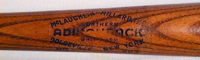 1930's Lou Gehrig Baseball Bat - Adirondack