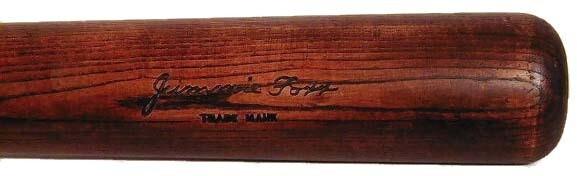 Vintage Baseball Bat - 1932 Jimmie Foxx Louisville Slugger