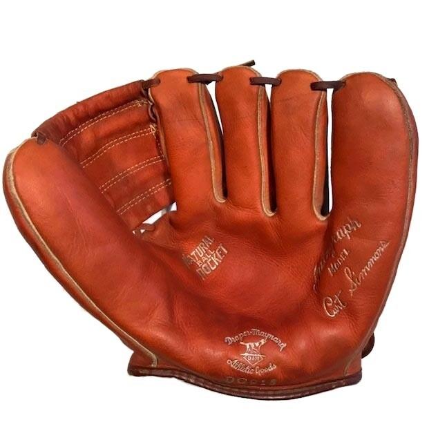 Early 1950's Curt Simmons D&M Baseball Glove