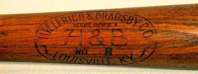 1930's Rogers Hornsby Louisville Slugger Baseball Bat