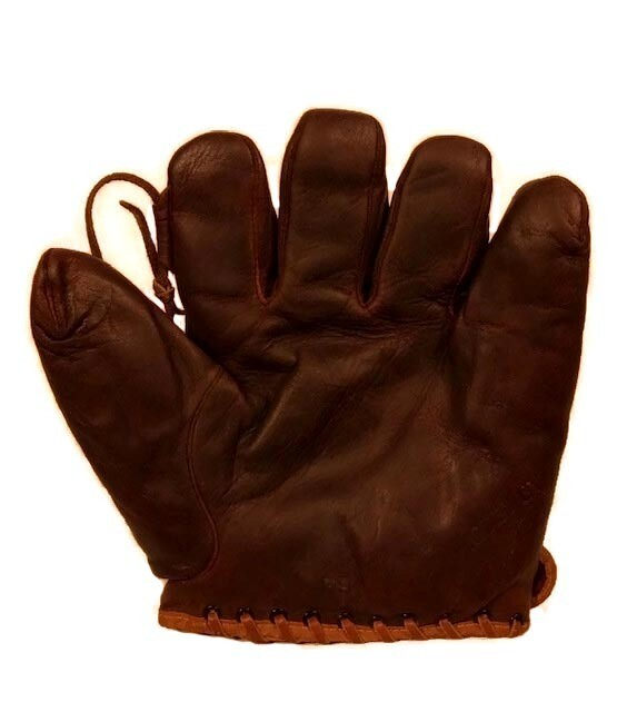 1920's Sam Rice D&M Baseball Glove