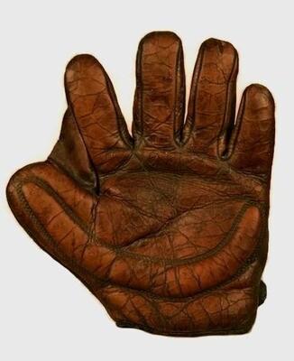 Vintage Crescent Padded Fielder's Glove - A. J. Reach