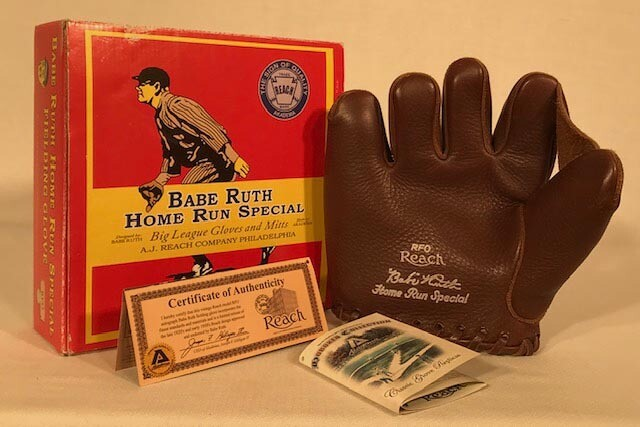 Babe Ruth Home Run Special Baseball Glove - 2007 Replica