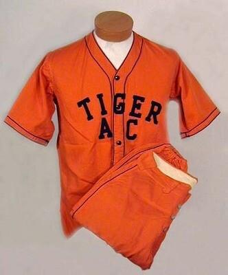 1930's Princeton University Baseball Uniform