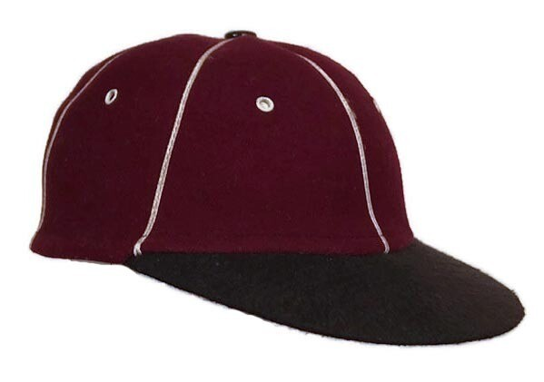 Antique Short Brim Baseball Cap circa 1910 - 1920
