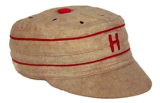 1890's Harvard University Pillbox Style Baseball Cap