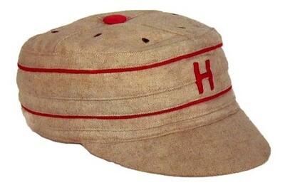 1890's Harvard University Pillbox Style Baseball Cap