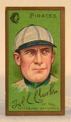 1911 T205 Gold Border Fred Clarke Baseball Tobacco Card