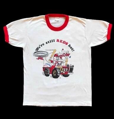 1975 World Champion Cincinnati Reds Souvenir T-shirt