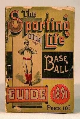 1891 Sporting Life Baseball Guide