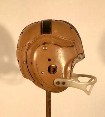 Notre Dame Leather Football Helmet - 1940's