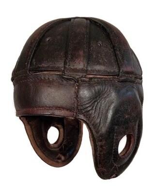 1920's Leather Football Helmet Spalding Model ZH