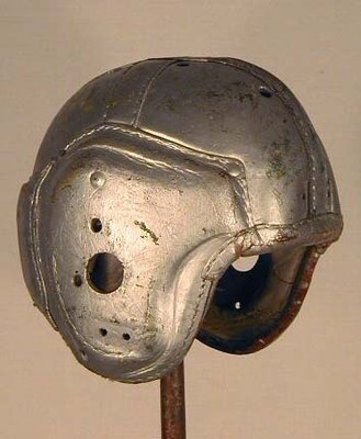 1930-1940's MacGregeor H612 Leather Football Helmet