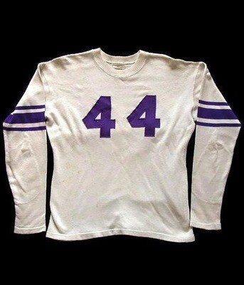 1930's Vintage Football Jersey made by Lowe & Campbell