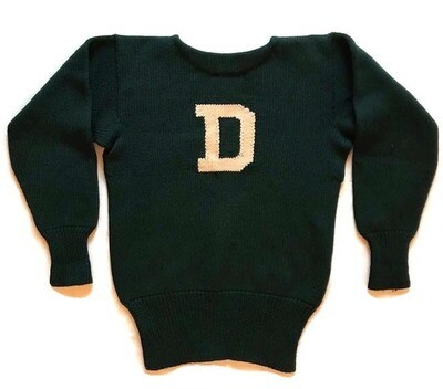 1920's Dartmouth University Football Letter Sweater
