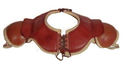 1910's Antique Football Shoulder Pads made by Rawlings