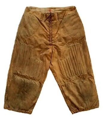 1900-1910 James W. Brine, Quilted and Reeded Football Pants