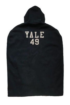1949 Yale Football Sideline Cape made by Champion