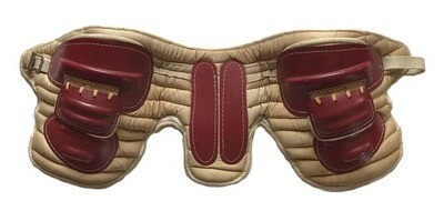 Antique Football Hip Pads - Spalding