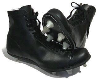 Antique Football Shoes 1930-40's MINT
