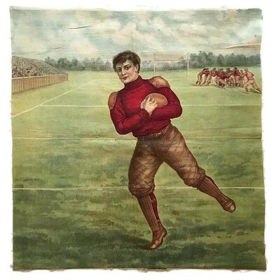 1905 Harvard Football Pillow Cover