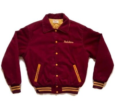 1970's Washington Redskins Football Jacket by Rennoe