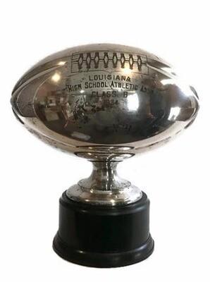 Vintage Football Trophy - 1934