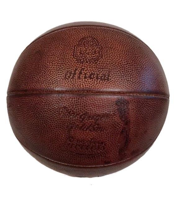 1930's MacGregor GoldSmith LaceLess Basketball