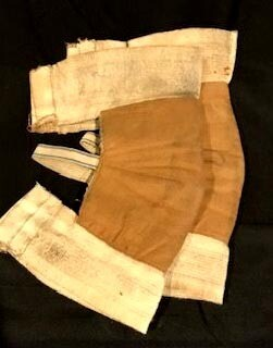 1900-1910's Basketball Knee Pads