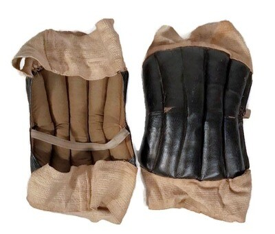 1910's Vintage Basketball Knee Pads