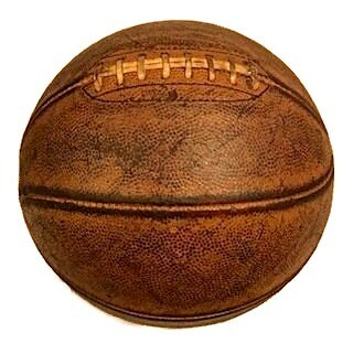 Vintage 1930's Laced Basketball