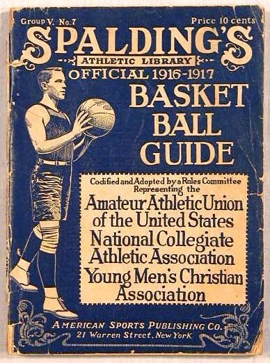 1916 - 1917 Spalding Basketball Guide