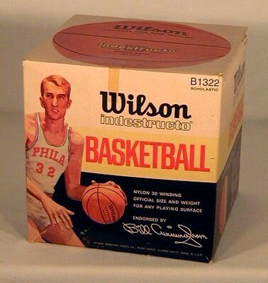 Vintage Basketball Box - Billy Cunningham